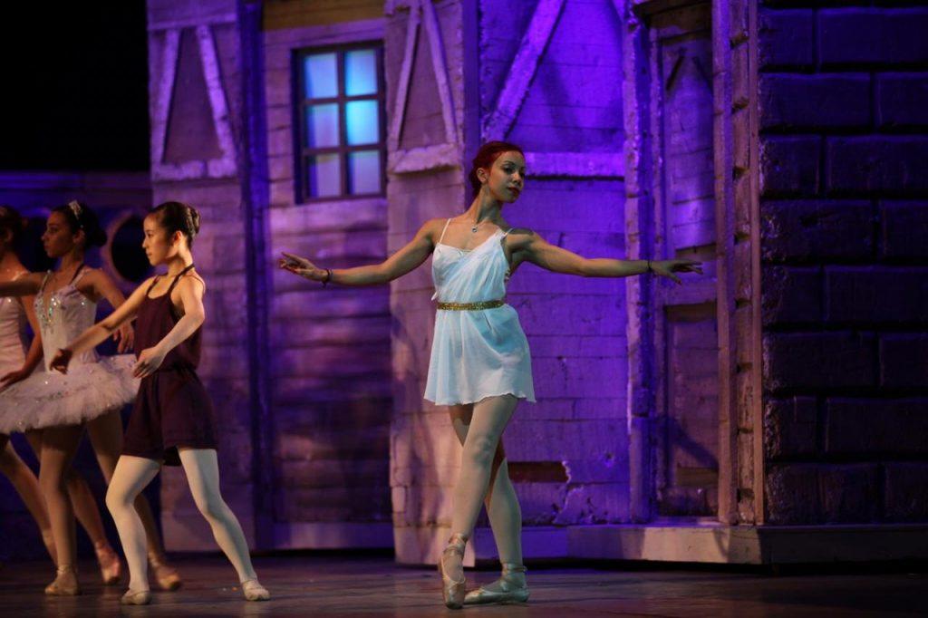 Yassmin dancing in opera