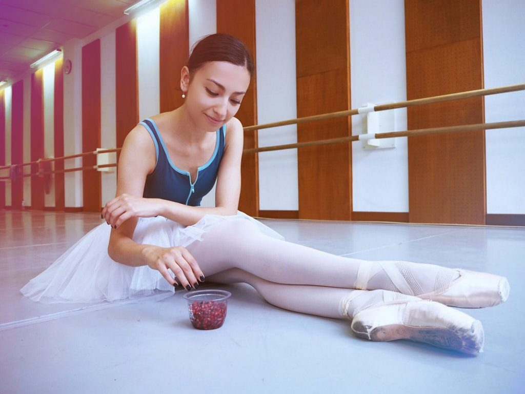 girl prepared for Ballet Audition